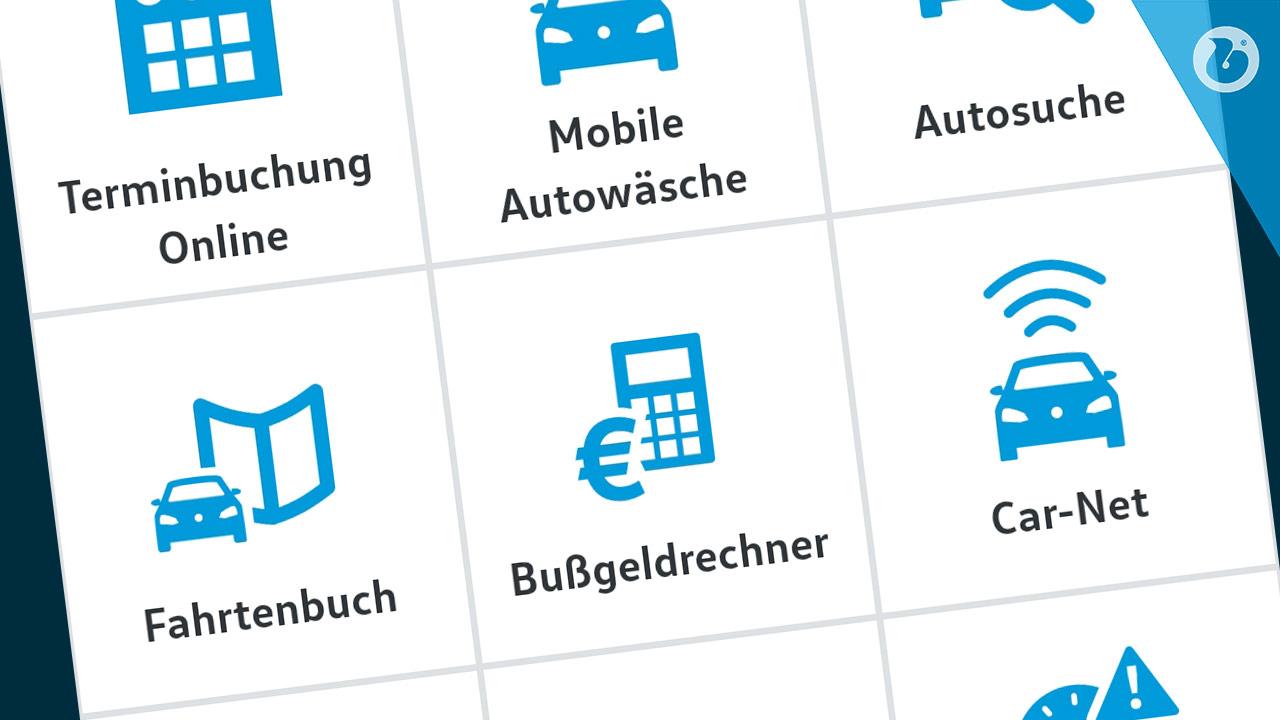 Volkswagen WE - Autohaus Badziong - Virtuelle Garage mit nützlichen Funktionen